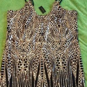 Dresses & Skirts - Beautiful Plus Size Sequin Cocktail Dress!